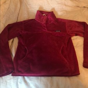 Patagonia Re-tool Snap Fleece Fuchsia M